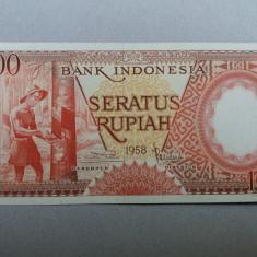Indonezia 100 rupiah 1958