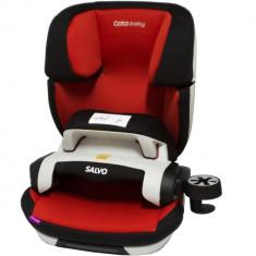 Scaun auto cu Isofix Salvo - Coto Baby - Rosu - Scaun auto copii, 1-2-3 (9-36 kg)