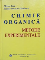 CHIMIE ORGANICA. Metode experimentale - Mircea Iovu, T. O. Nicolescu