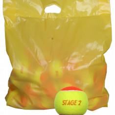 Stage 2 Orange Mingi tenis de camp pentru copii, portocalii 1 buc - Minge tenis de camp