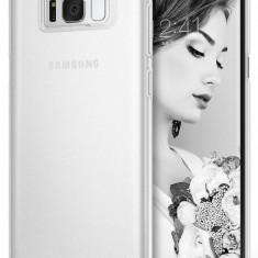 Husa Protectie Spate Ringke Slim Frost White pentru Samsung Galaxy S8 - Husa Telefon Ringke, Plastic, Carcasa