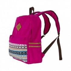 Rucsac notebook Serioux SRX-BPK-JOY-PINK, max 15.6 inch, material textil, roz - Geanta laptop Serioux, Panza