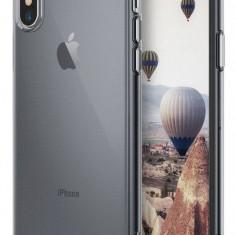 Husa Protectie Spate Ringke Air Smoke Black pentru Apple iPhone X - Husa Telefon Ringke, Plastic, Carcasa