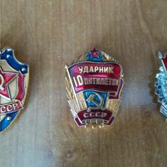 Medalie, Insigna, Cascheta, Casca Militara, Sovietica, Ruseasca, Comunista, RSR