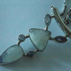 Lant si pandant argint cu pietre semi-pretioase :) -2392 - Lantisor argint