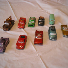 Disney Pixar Cars - Hasbro - 10 figurine masinute de metal - lot 2 - Masinuta