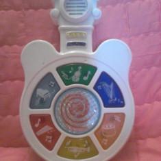 Jucarie Chitara muzicala interactiva - Jucarie interactiva Altele, Unisex, Multicolor, Plastic