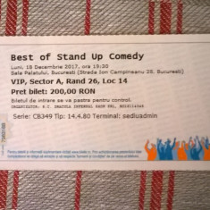 Bilet Best of Stand Up Comedy VIP cu Bobonete - Bilet concert