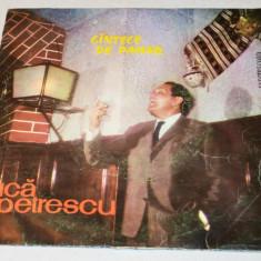 Disc vinyl, vinil Cantece de pahar - Gica Petrescu - Muzica Lautareasca