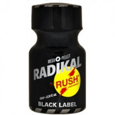 RADIKAL BLACK BY RUSH 10 ML, POPPERS, PWD, AROMA NR1, SIGILAT, PRODUS ORIGINAL USA - Stimulente sexuale, Afrodisiace