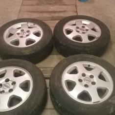 Jante Opel + Anvelope Michelin (Vara) 195 65 R15 (pret/vanzare set 4buc) - Janta aliaj Opel, Numar prezoane: 5, PCD: 110