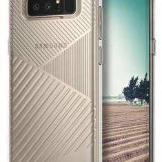 Husa Protectie Spate Ringke Bevel Clear pentru Samsung Galaxy Note 8 - Husa Telefon Ringke, Gel TPU