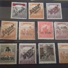 Romania zona de ocupatie Timisoara lot timbre neuzate - Timbre Romania, Nestampilat