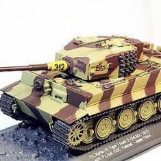 Macheta tanc Tiger I - 1944 scara 1:43 - Macheta auto