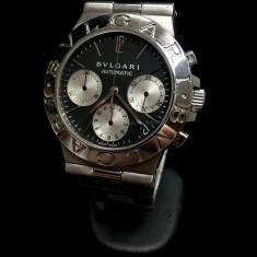 Ceas BVLGARI CH 35 S (0019) - Ceas barbatesc Bvlgari, Elegant, Mecanic-Automatic, Inox, Cronograf
