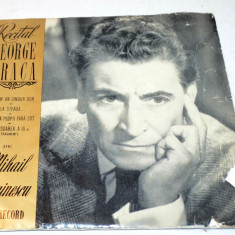Disc vinyl, vinil Recital George Vraca - Muzica soundtrack
