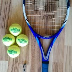 Set Artengo - racheta tenis de camp, 4 mingi de tenis si antivibrator, Adulti