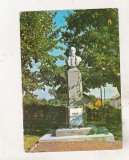 bnk cp Ipotesti - Statuia lui M Eminescu -necirculata - marca fixa