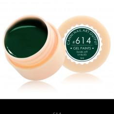 Gel Canni Color Paints 5 g #614 - Gel unghii Canni, Gel colorat