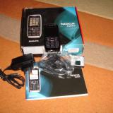 NOKIA E51 ORIGINAL 100% CA NOU LA CUTIE - 239 LEI !!! - Telefon Nokia, Negru, <1GB, Neblocat, Single SIM, Single core