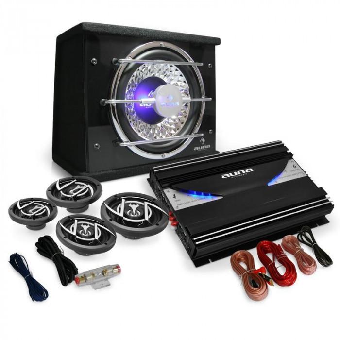 "4.1 Set HIFI auto ""Black Line 540 'Amplificator foto mare"