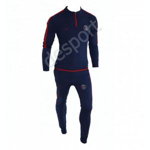 Trening PSG - Bluza si pantaloni conici - Model nou cu fermoar scurt - 1244