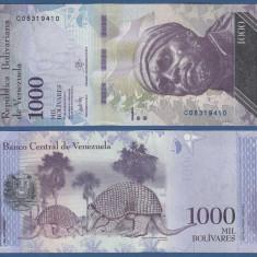 Venezuela 2017 - 1000 bolivares UNC - bancnota america