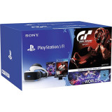 Accesoriu Playstation Vr + Gran Turismo Sport + Camera Ps + Vr Worlds