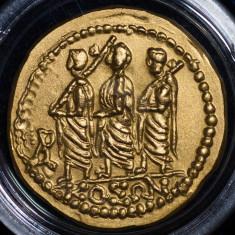 Koson - replica BNR 2005 - Moneda Romania, Aur