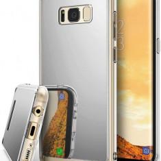 Husa Protectie Spate Ringke Mirror Silver pentru Samsung Galaxy S8 Plus - Husa Telefon Ringke, Gel TPU