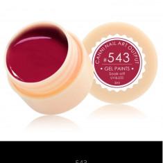 Gel Canni Color Paints 5 g #543 - Gel unghii Canni, Gel colorat
