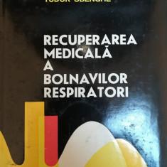 Recuperarea Medicala A Bolnavilor Respiratori - Tudor Sbenghe - 1983 - Carte Recuperare medicala