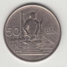 ROMANIA - 50 bani 1955, RPR, L 1.40 - Moneda Romania