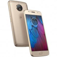 Smartphone Motorola G5S 32GB Dual SIM 4G Gold - Telefon Motorola