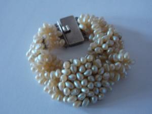 Bratara argint  handmade cu perle naturale -2360