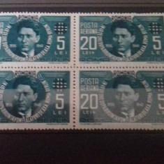 Romania 1941 Codreanu posta aeriana mnh l.p 142 II - Timbre Romania, Transporturi, Nestampilat