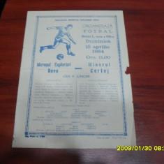 Program Muresul E. Deva - MInerul Certej - Program meci