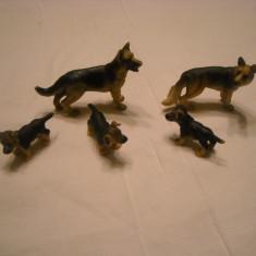 Schleich - familie de caini lup - ciobanesc german - Figurina Animale Schleich, Unisex
