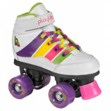 Patine cu rotile Powerslide Playlife Groove Junior White 38 - Role