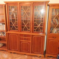 Mobila sufragerie din lemn masiv-CIREȘ, lucrată manual, model clasic si de lux.