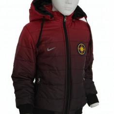 Geaca Steaua FCSB pentru COPII 7 - 14 ANI - Model nou cu gluga detasabila - 1240, Marime: XXL, XL, L, M, Culoare: Din imagine