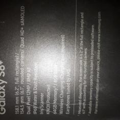 Telefon samsung galaxy s8 plus, Negru, Neblocat, Dual SIM