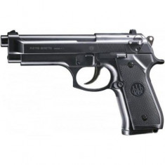 Pistol airsoft armare manuala metal slide BERETTA 92 S+100bile - Arma Airsoft