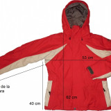 Geaca ski schi NIKE 3 straturi, ventilata, originala (dama M) cod-450674 - Echipament ski Nike, Geci, Femei