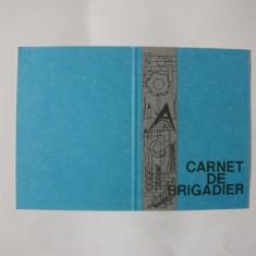 Carnet de brigadier, necompletat