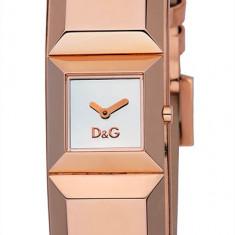 D&G DW0271 Ceas dama Dolce & Gabbana nou 100% original. Garantie. Livrare rapida., Casual, Quartz, Inox, Piele, Rezistent la apa