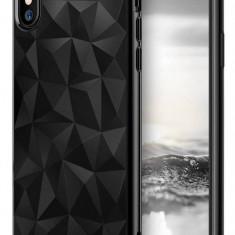 Husa Protectie Spate Ringke Prism Ink Black pentru Apple iPhone X - Husa Telefon Ringke, Plastic, Carcasa