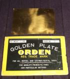 Aur dentar 15gr. - ORDEN Golden plate, made in Japan