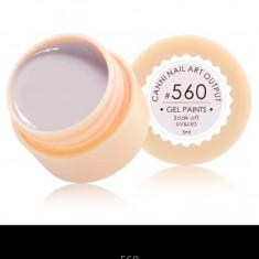 Gel Canni Color Paints 5 g #560 - Gel unghii Canni, Gel colorat