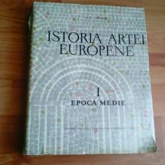 ISTORIA ARTEI EUROPENE--EPOCA MEDIE -VOL1, 2- VIRGIL VATASIANU - Carte Istoria artei